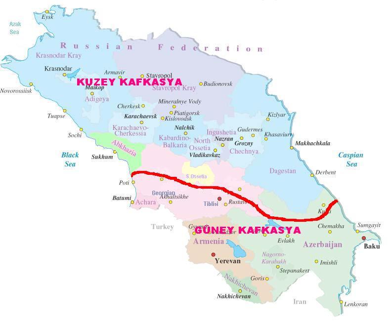 Kuzey ve Guney Kafkasya