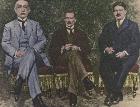 Bekir Sami Kundukh, Mustafa Kemal, Rauf Orbay